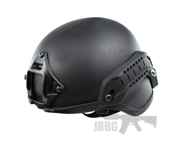 WoSport High-Speed Tactical Helmet Black