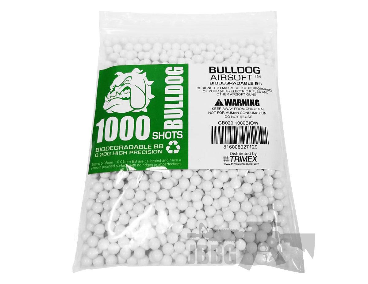 .20G 1000 Bio Airsoft BB
