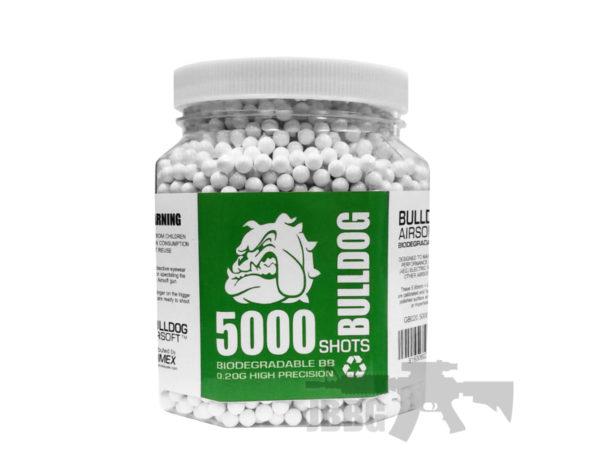.20G 5000 Bio Airsoft BB