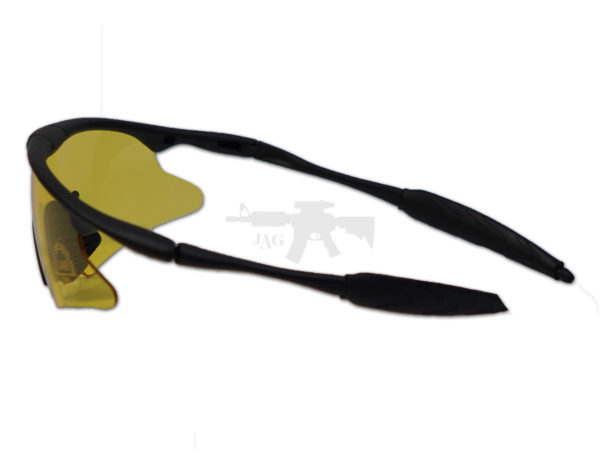 TACTICAL SHOOTING GLASSES FOR AIRSOFT YELLOW 4