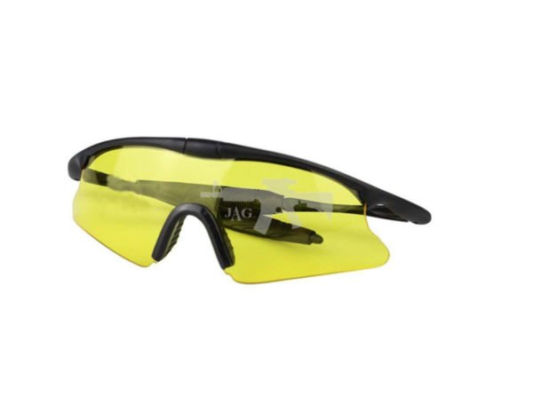 TACTICAL SHOOTING GLASSES FOR AIRSOFT YELLOW 1
