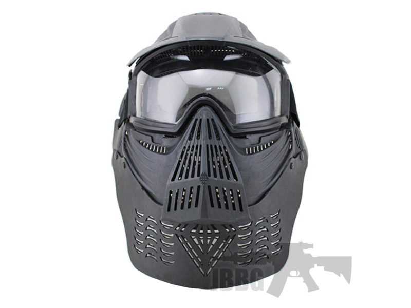 Transformers Ultimate Protection Airsoft Mask Black