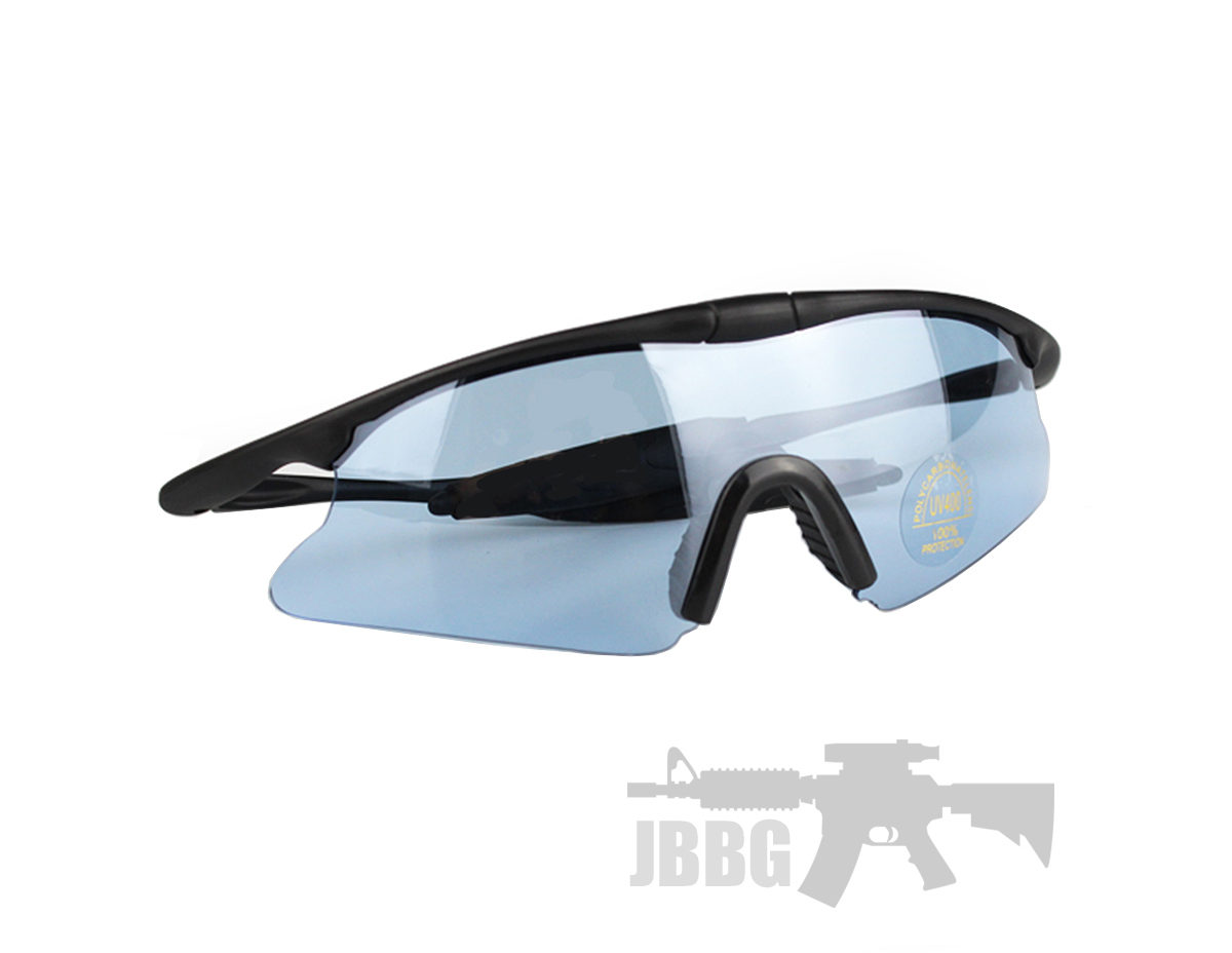Tactical Shooting Glasses for Airsoft Blue