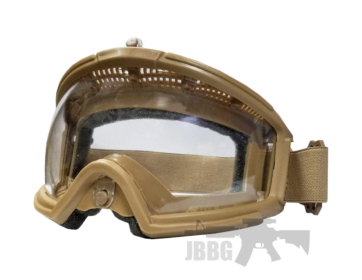Transformers Foundation Airsoft Goggles Tan