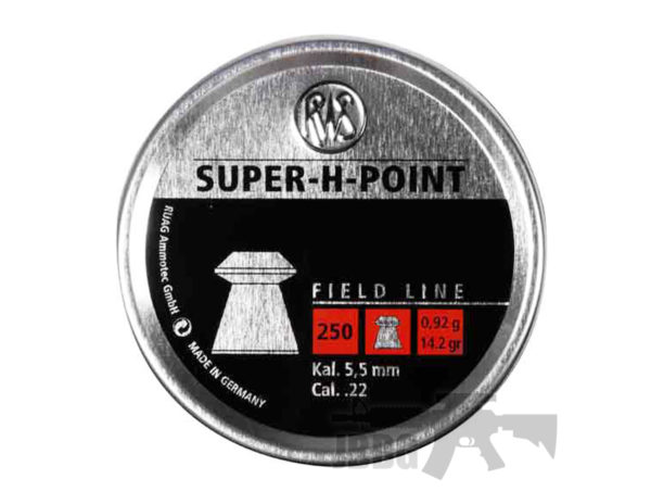 RWS Sup H Point .22 200 CT Air Gun Ammo