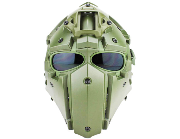 Airsoft Tactical Helmet with Full Face Mask