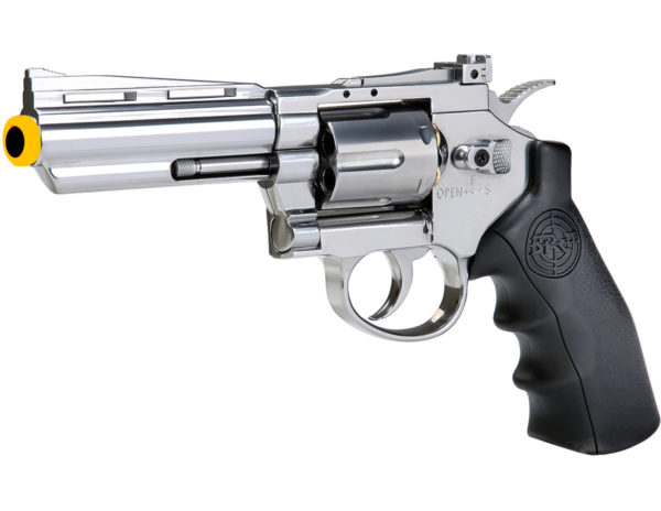 SRC 4 Inch Titan Full Metal CO2 Airsoft Revolver - Silver