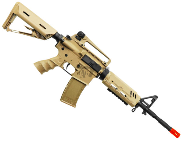 BULLDOG ST ALPHA AIRSOFT ELECTRIC RIFLE GUN TAN