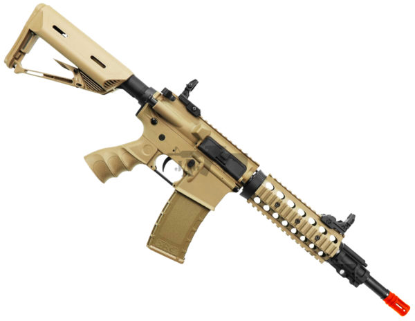 Bulldog st beta airsoft electric rifle gun tan