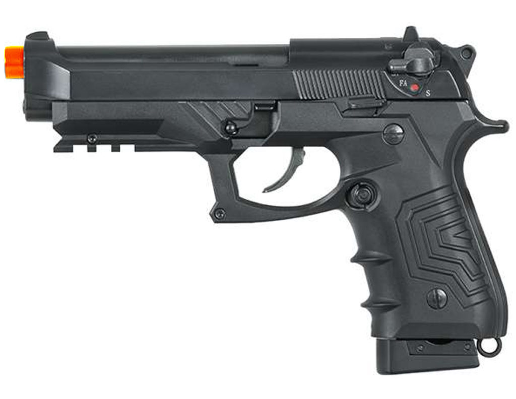 HFC FULLY AUTOMATIC BLOWBACK AIRSOFT METAL CO2 PISTOL