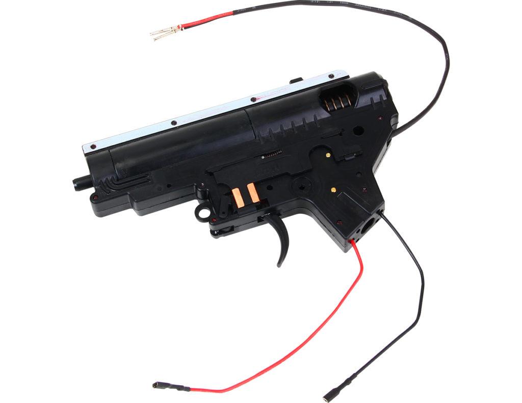 SRC PLASTIC GEAR BOX COMPLETE SET ( REAR WIRE)