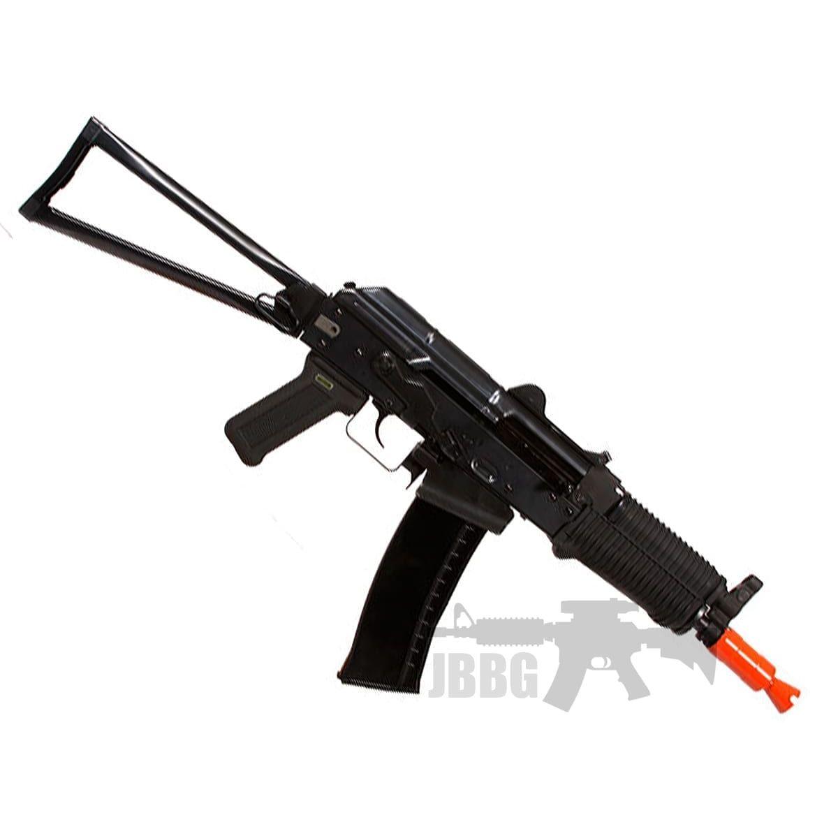 we ak74un gas airsoft rifle