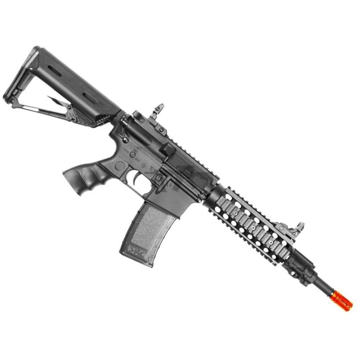BULLDOG ST BETA AIRSOFT ELECTRIC RIFLE GUN BEST NEW CQB