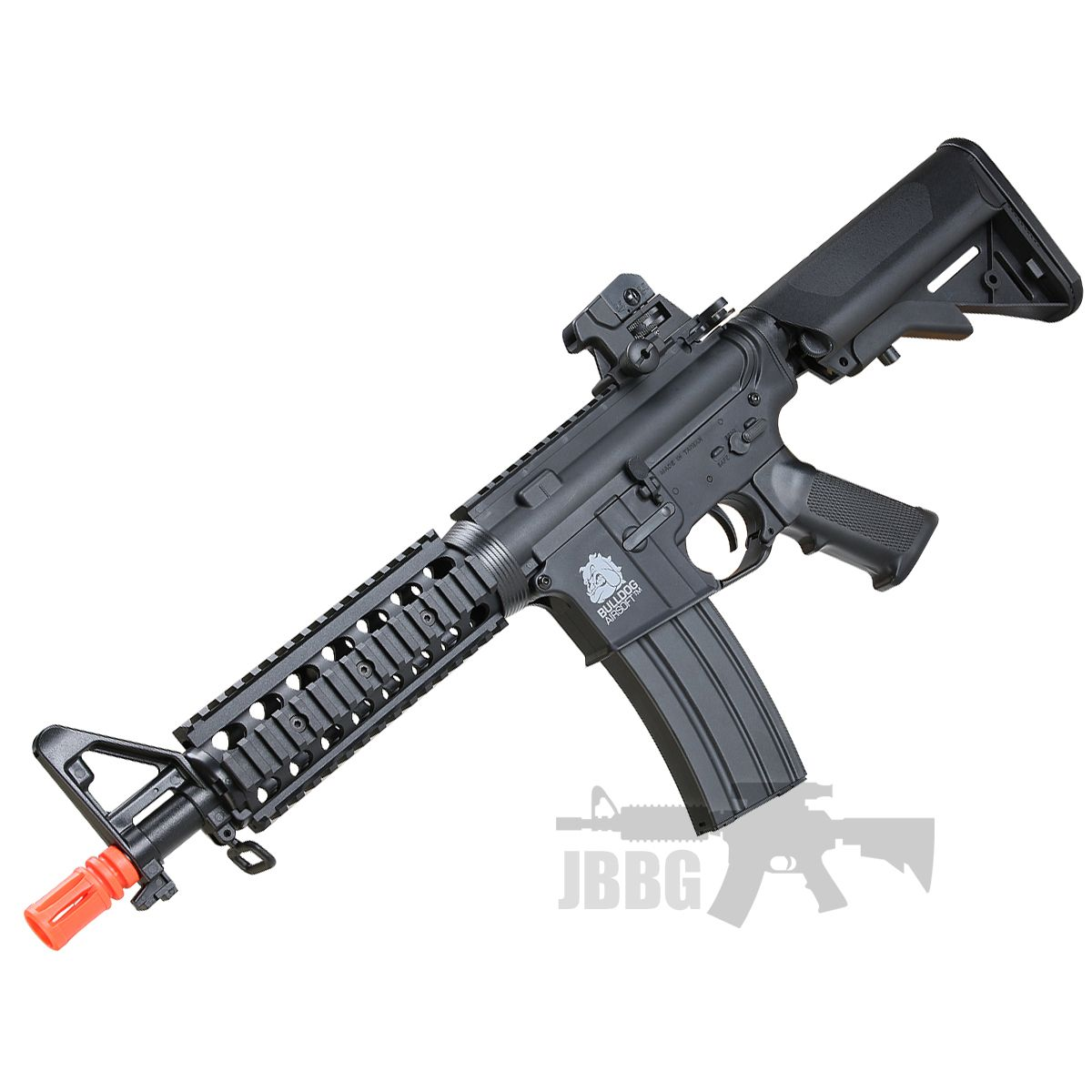 Bulldog M4PI RIS CQB Airsoft Electric Rifle Gun