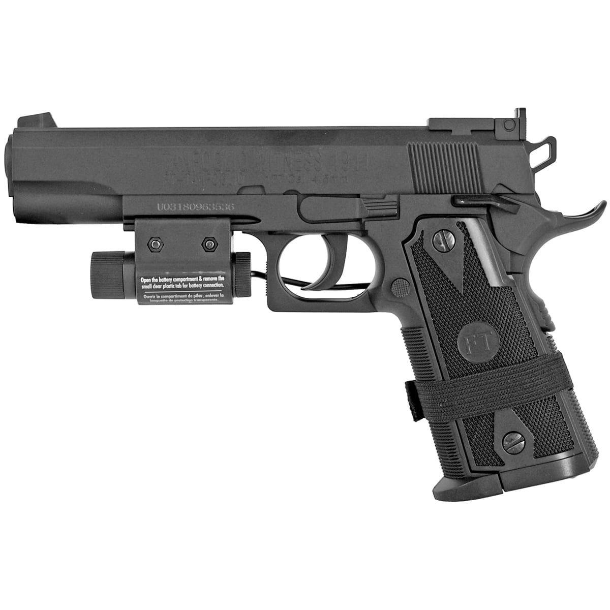 1911 co2 4.5mm airgun kit pistol
