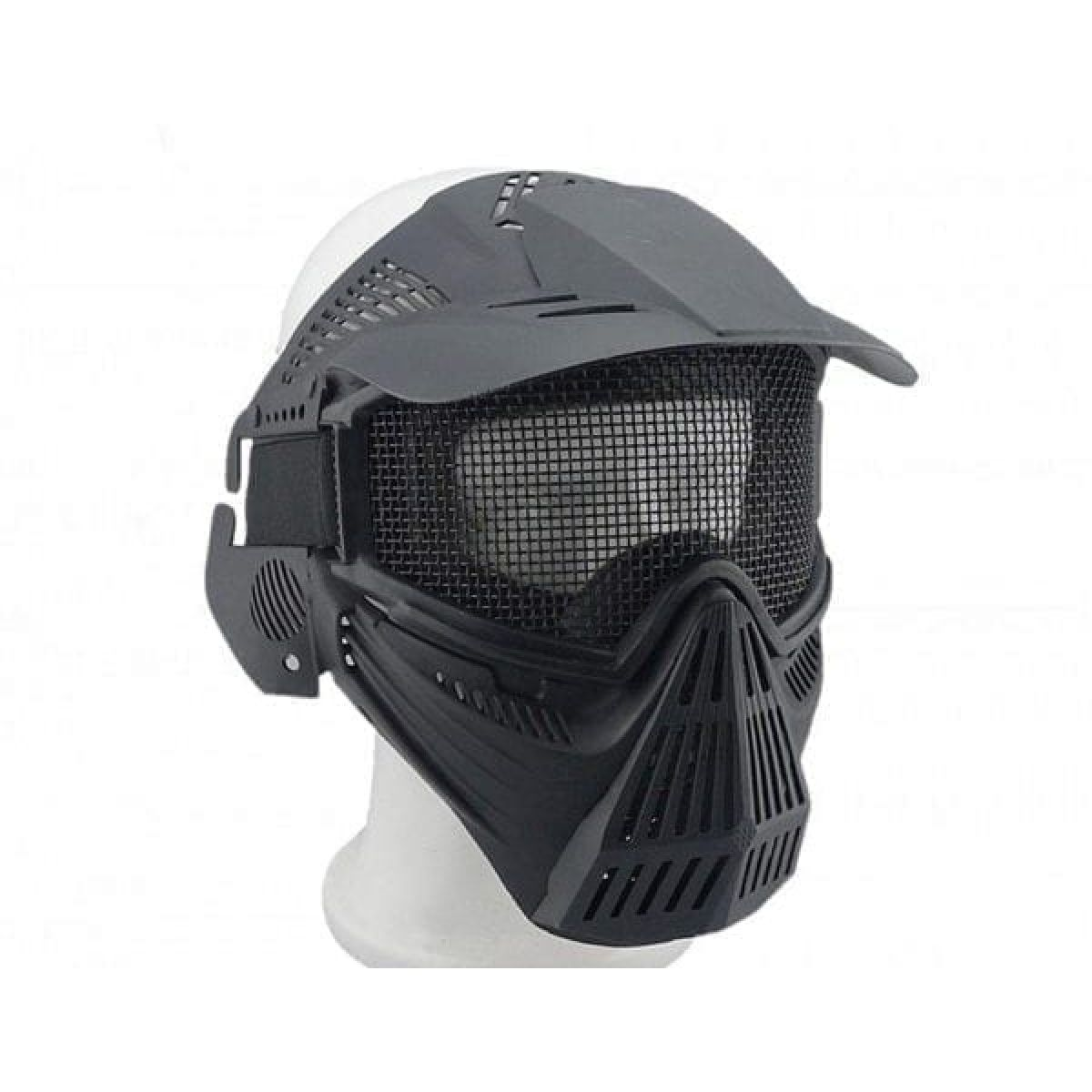PRO AIRSOFT MASK BLACK full face