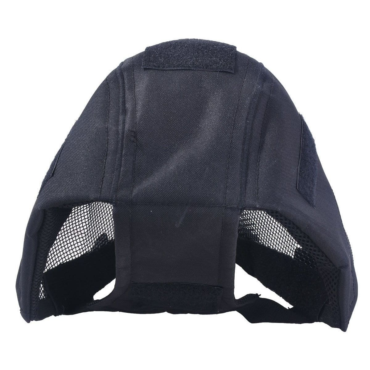 Airsoft Safety Mesh Mask Full Face & Ears Protection Fencing protection