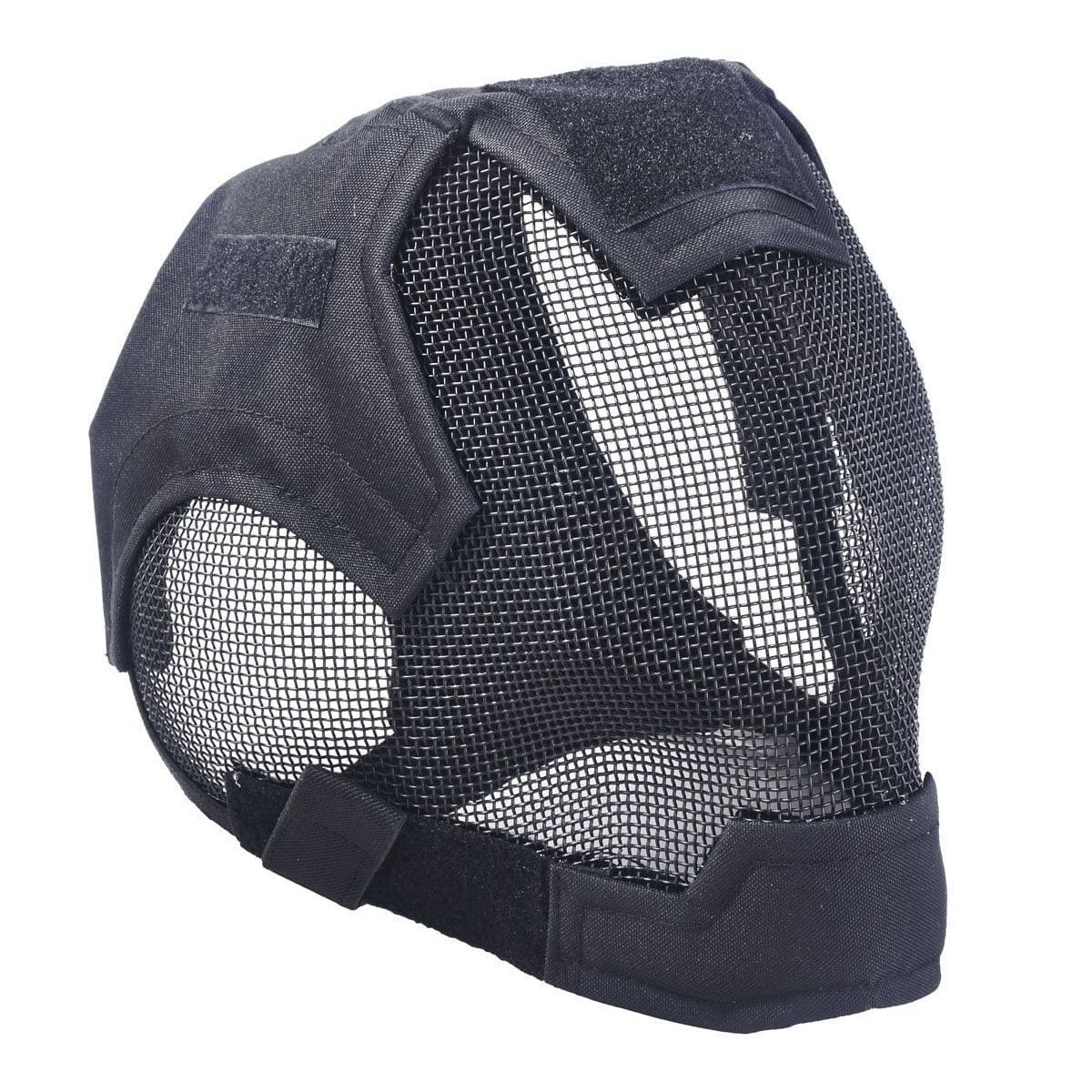Airsoft Safety Mesh Mask Full Face & Ears Protection Fencing safety