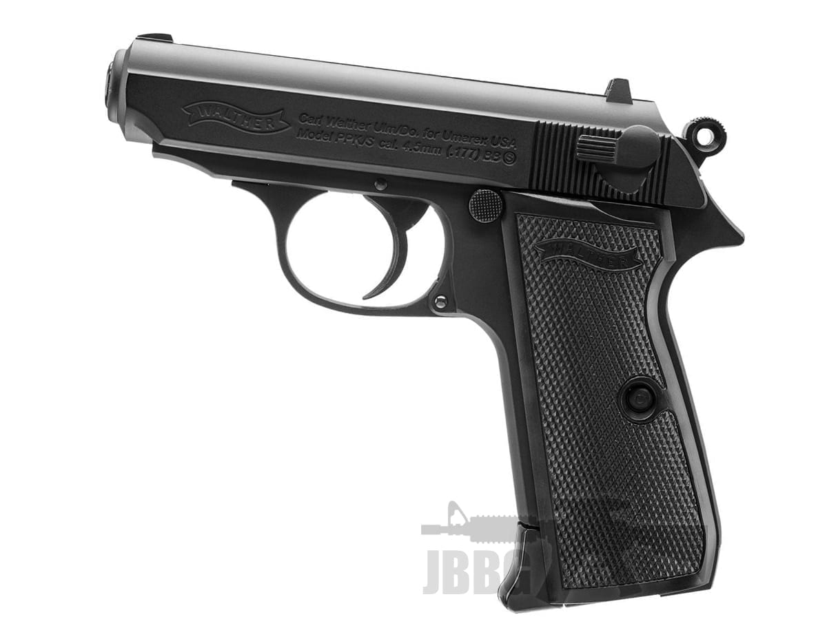 Walther Ppk/s .177 Black Co2 Powered Air Gun