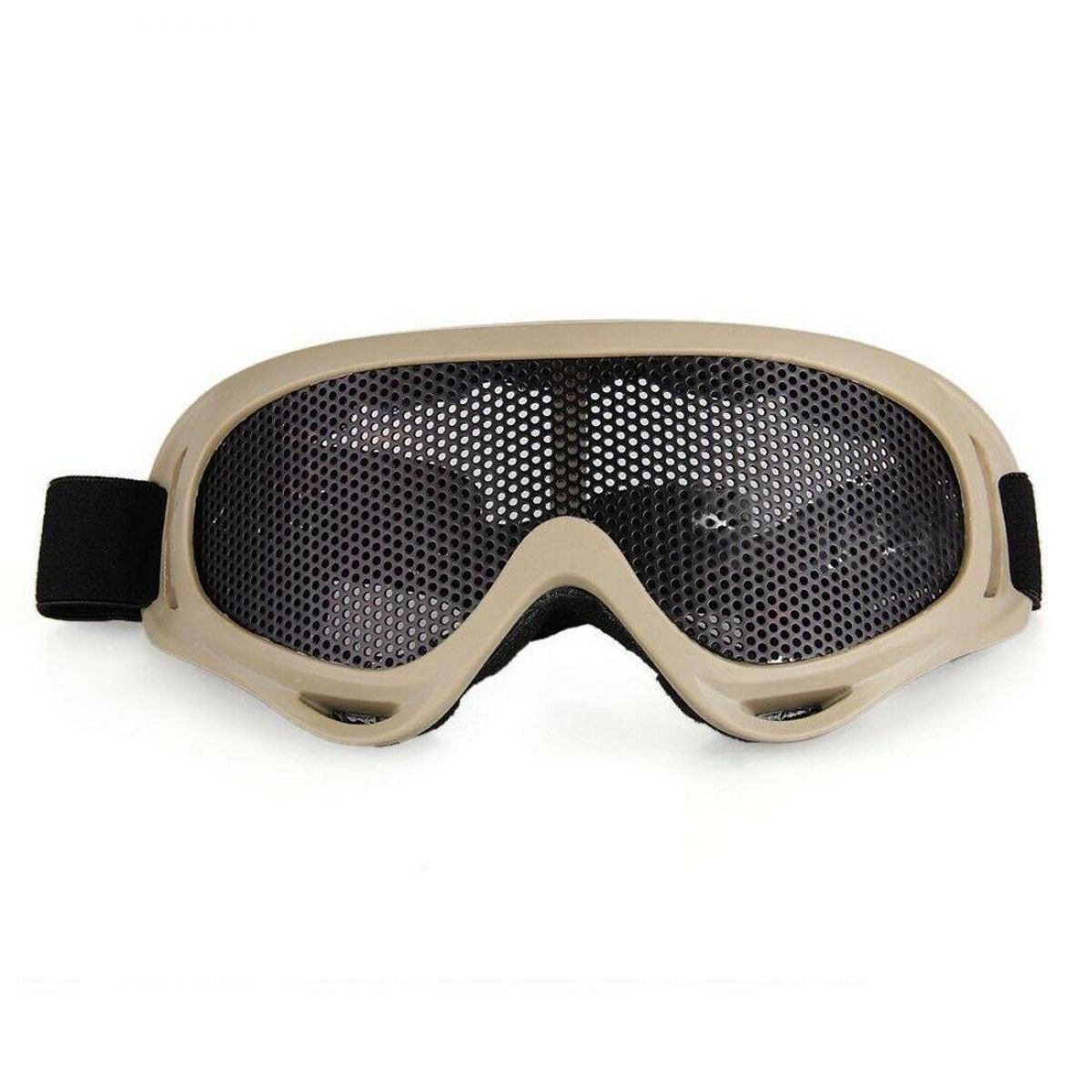 BIG AIRSOFT GOGGLES TAN MA04T