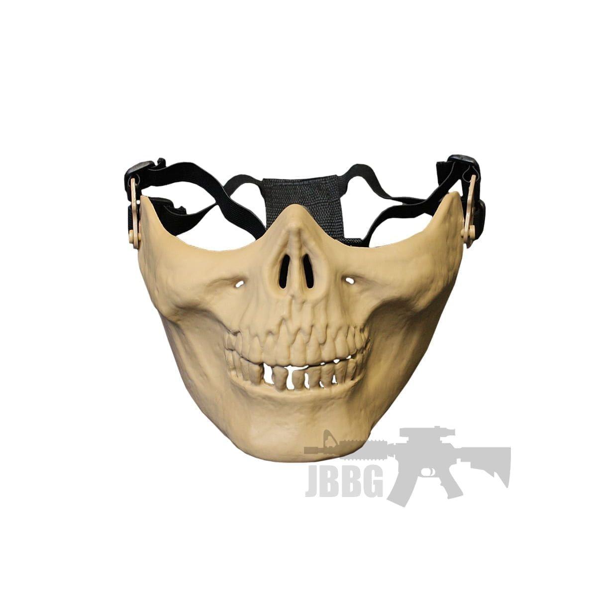 half tan face mask