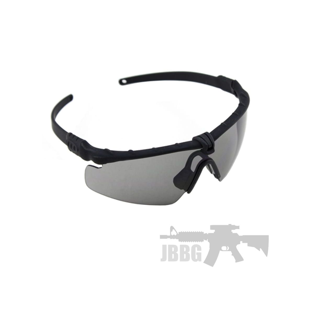 TACTICAL SHOOTING GLASSES FOR AIRSOFT BLACK