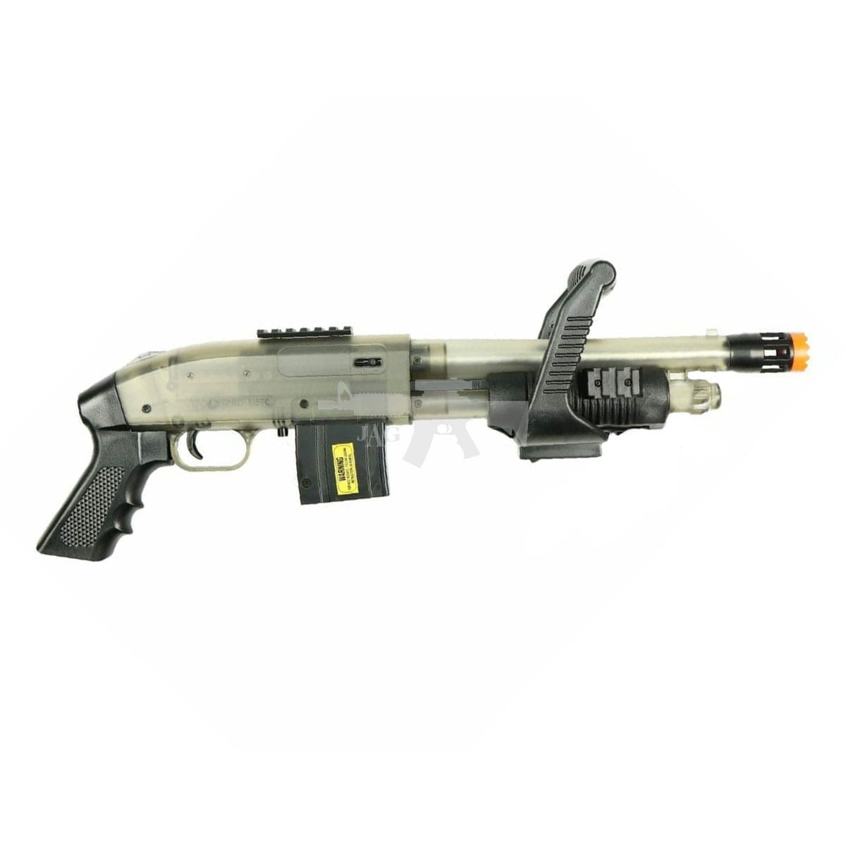 Mossberg 590 Chainsaw Spring Powered Airsoft Shotgun
