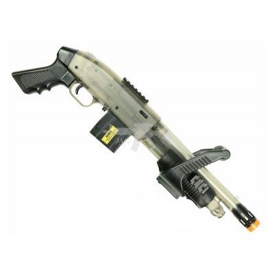 Mossberg 590 Chainsaw Spring Powered Airsoft Shotgun