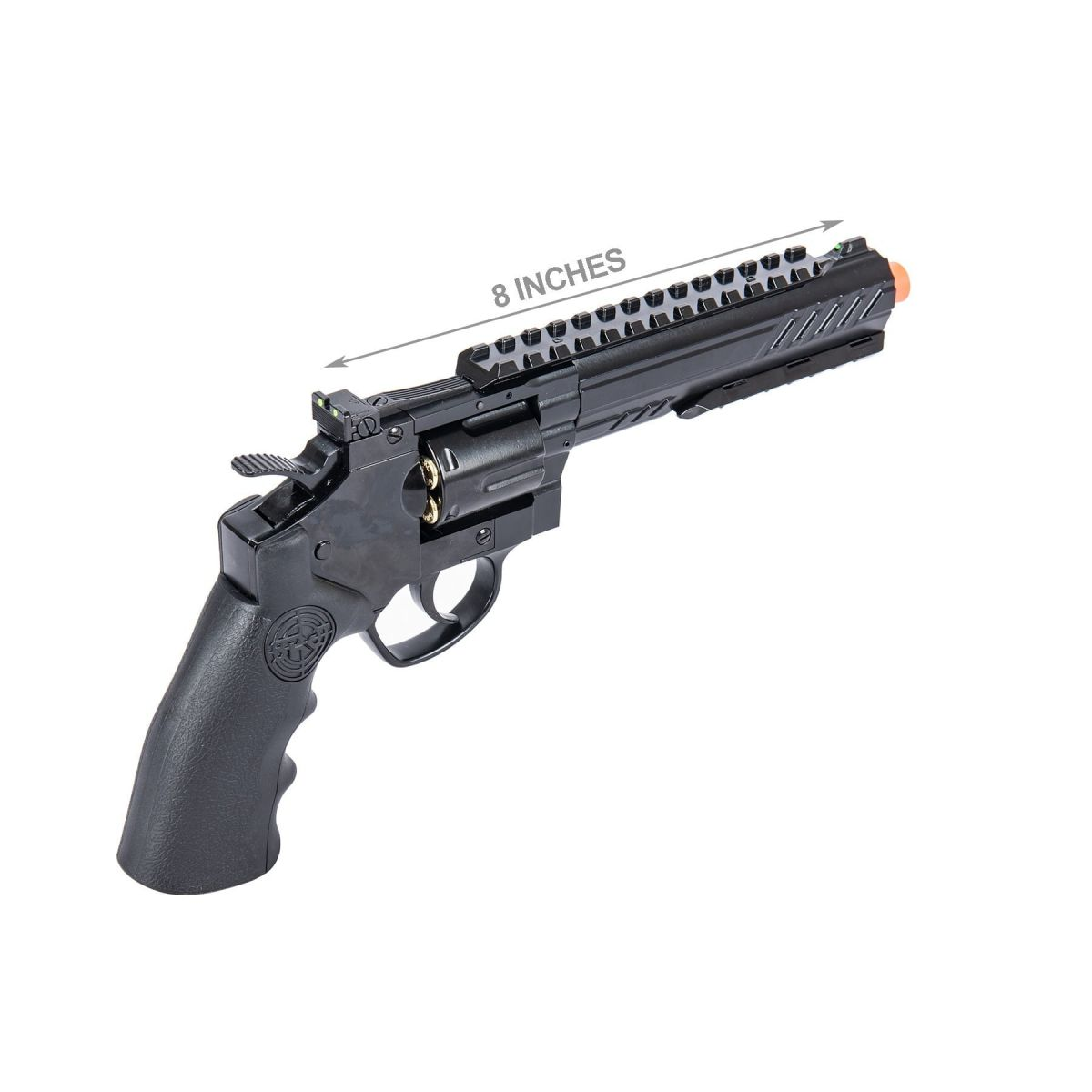SRC 6 INCH TITAN FULL METAL CO2 AIRSOFT REVOLVER black