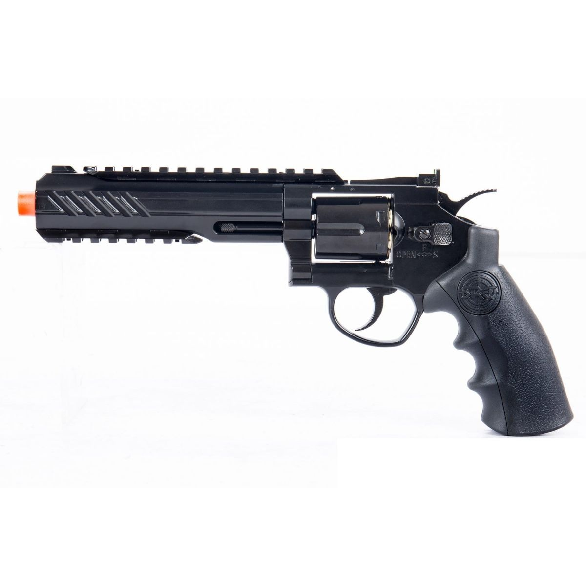 SRC 6 INCH TITAN FULL METAL CO2 AIRSOFT REVOLVER texas cowboy