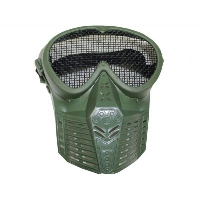 AIRSOFT MASK GREEN full face