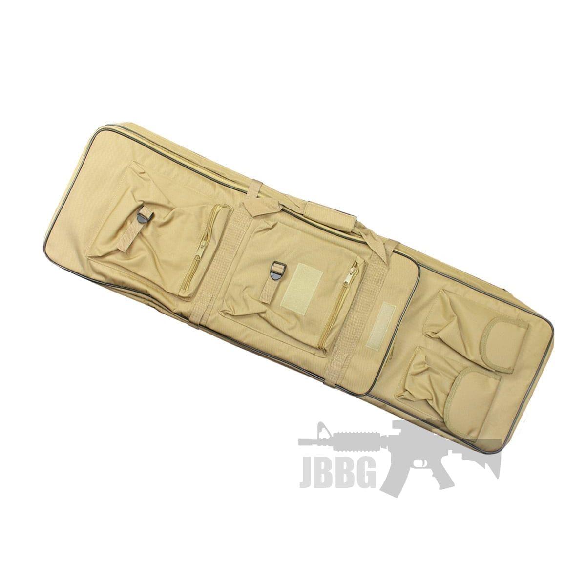 GB03 PORTABLE CARRY BAG (100CM) TAN rifle pistol pockets