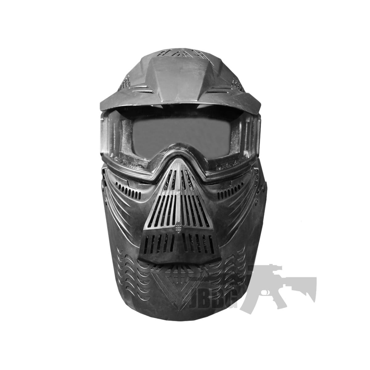 TRANSFORMERS ULTIMATE PROTECTION AIRSOFT MASK BLACK airsoft