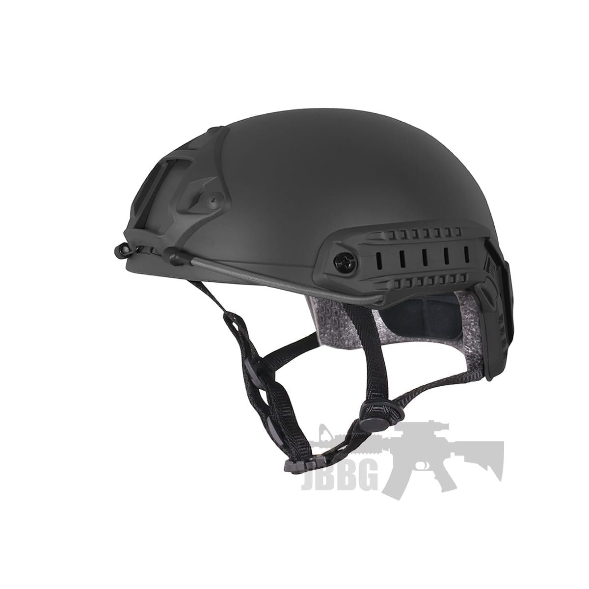 high speed tactical helmet black