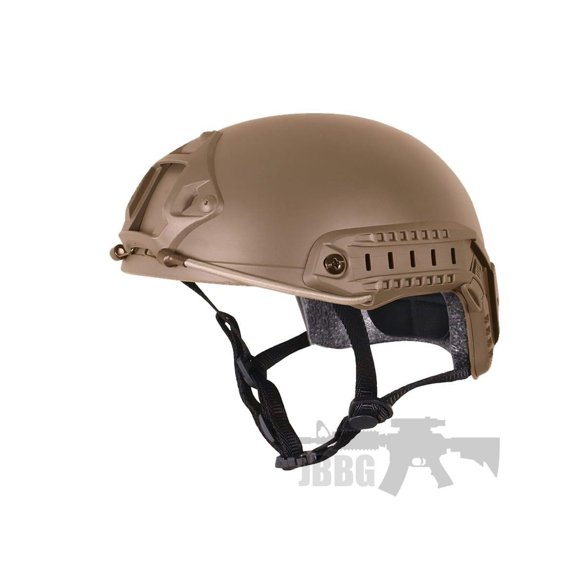 high speed tactical helmet tan