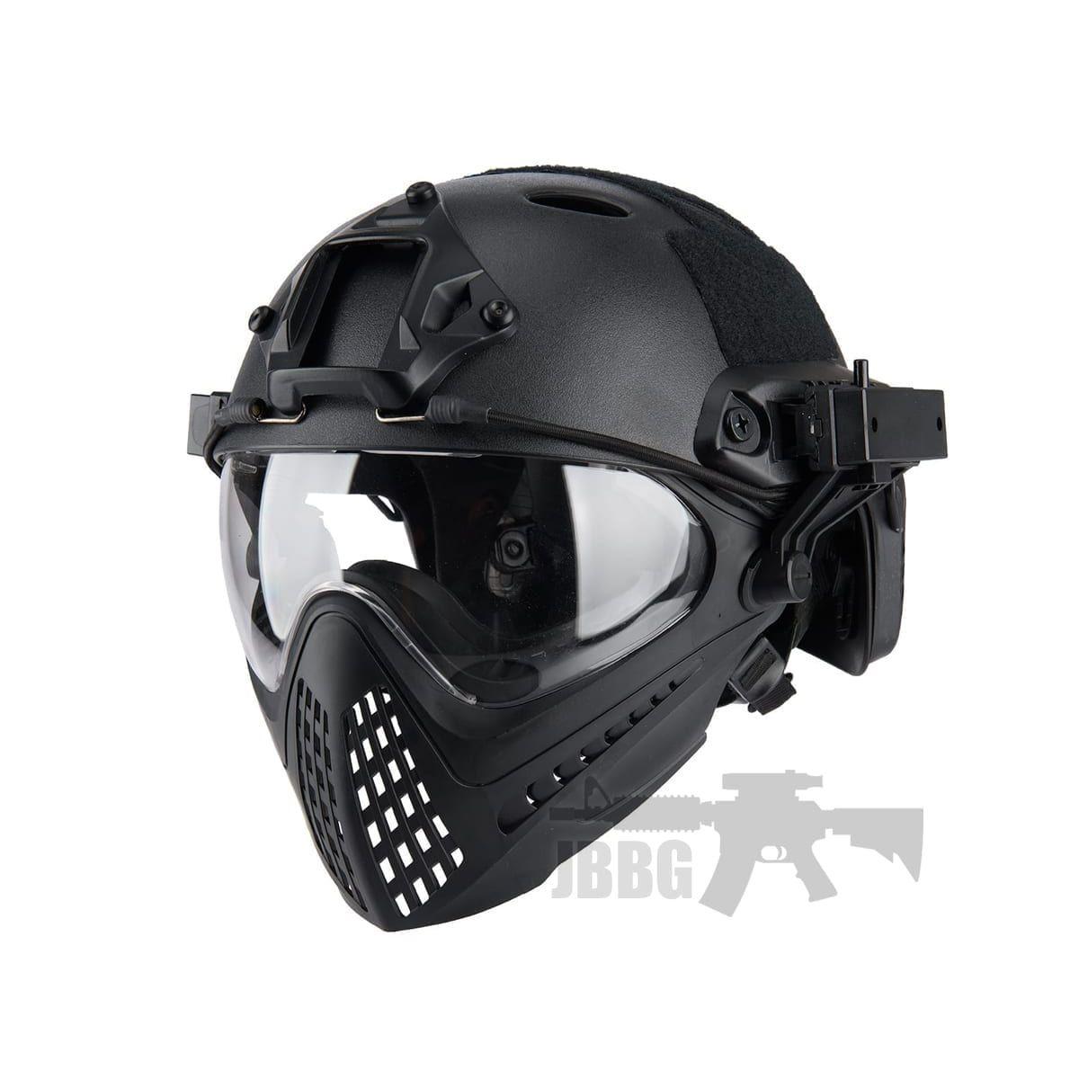fast helmet black