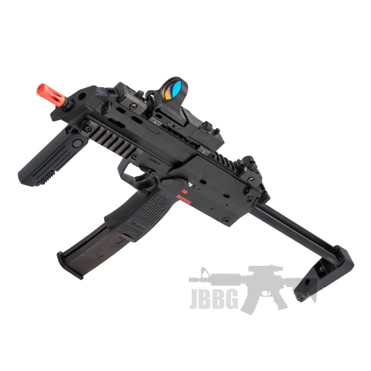 HK MP7 Full Auto Airsoft Gas Blowback Rifle
