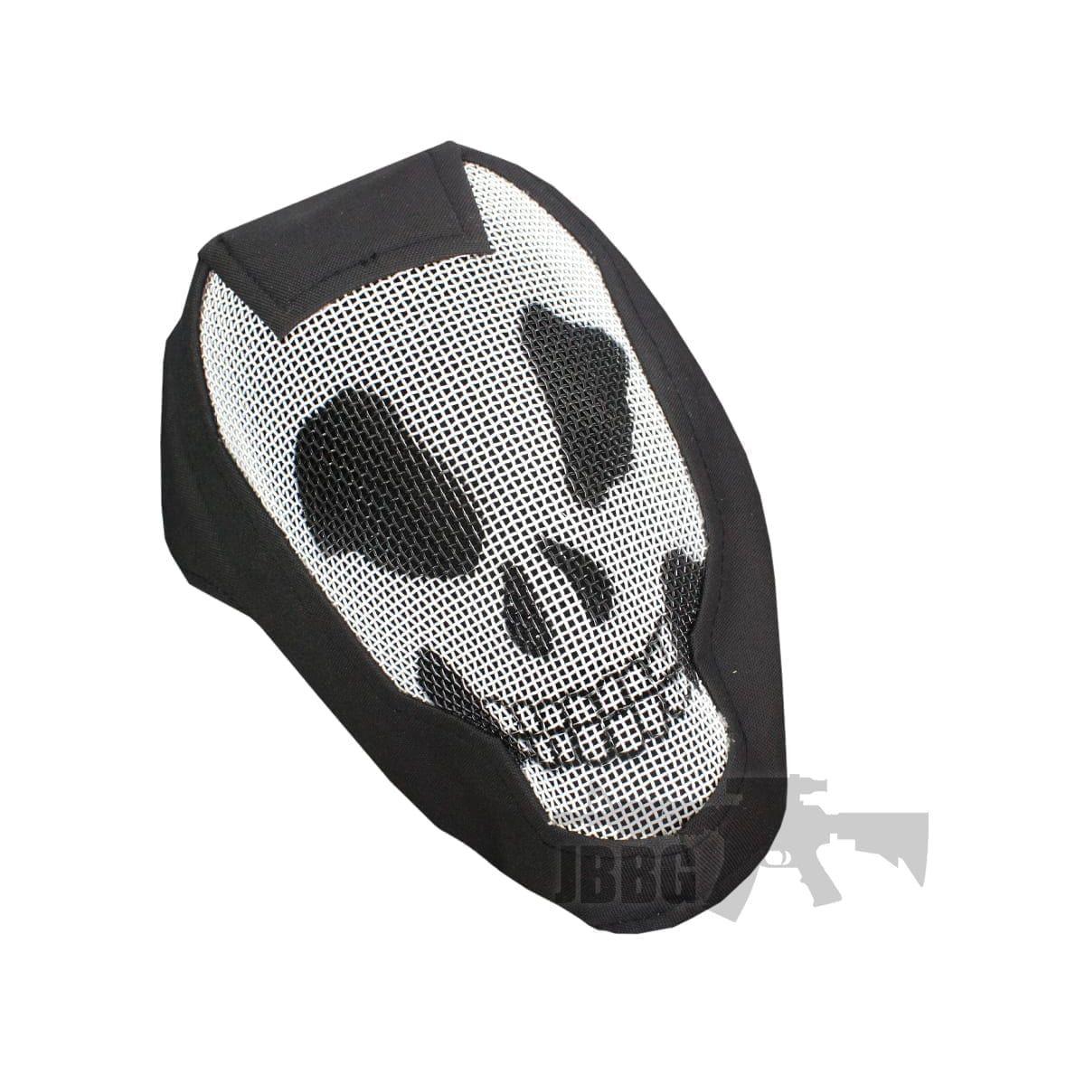 Skull Fencing Mask MA-12-WB