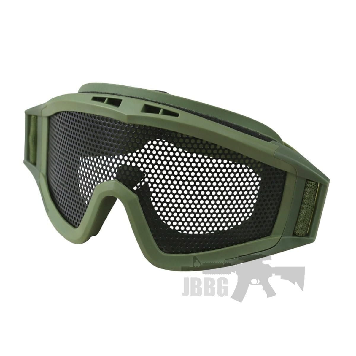 large goggles airsoft green