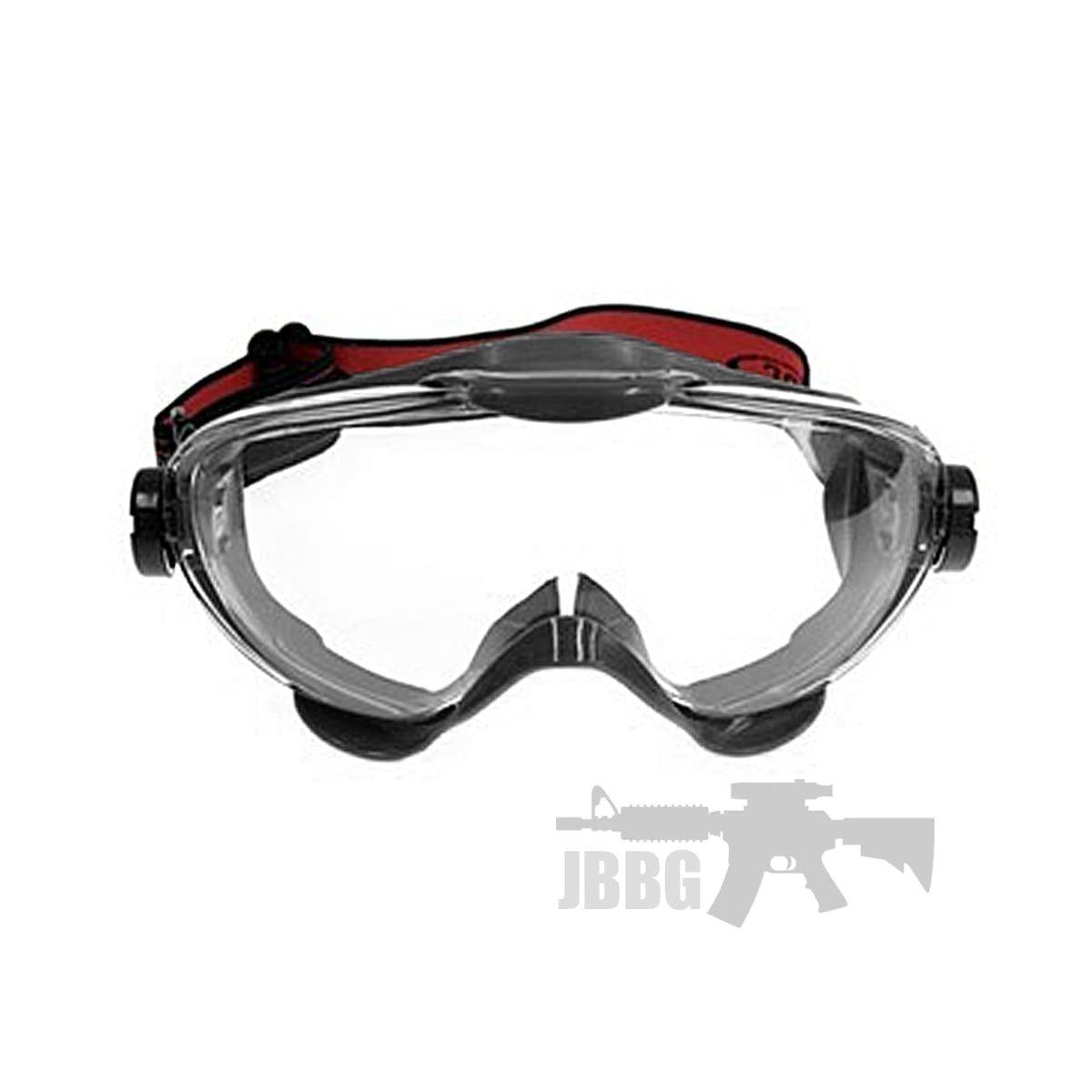 airsoft goggles black