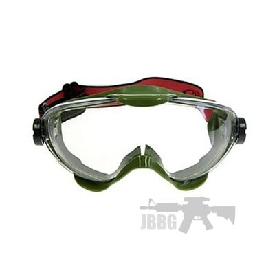 SRC Pro Anti-fog Airsoft Goggles Green