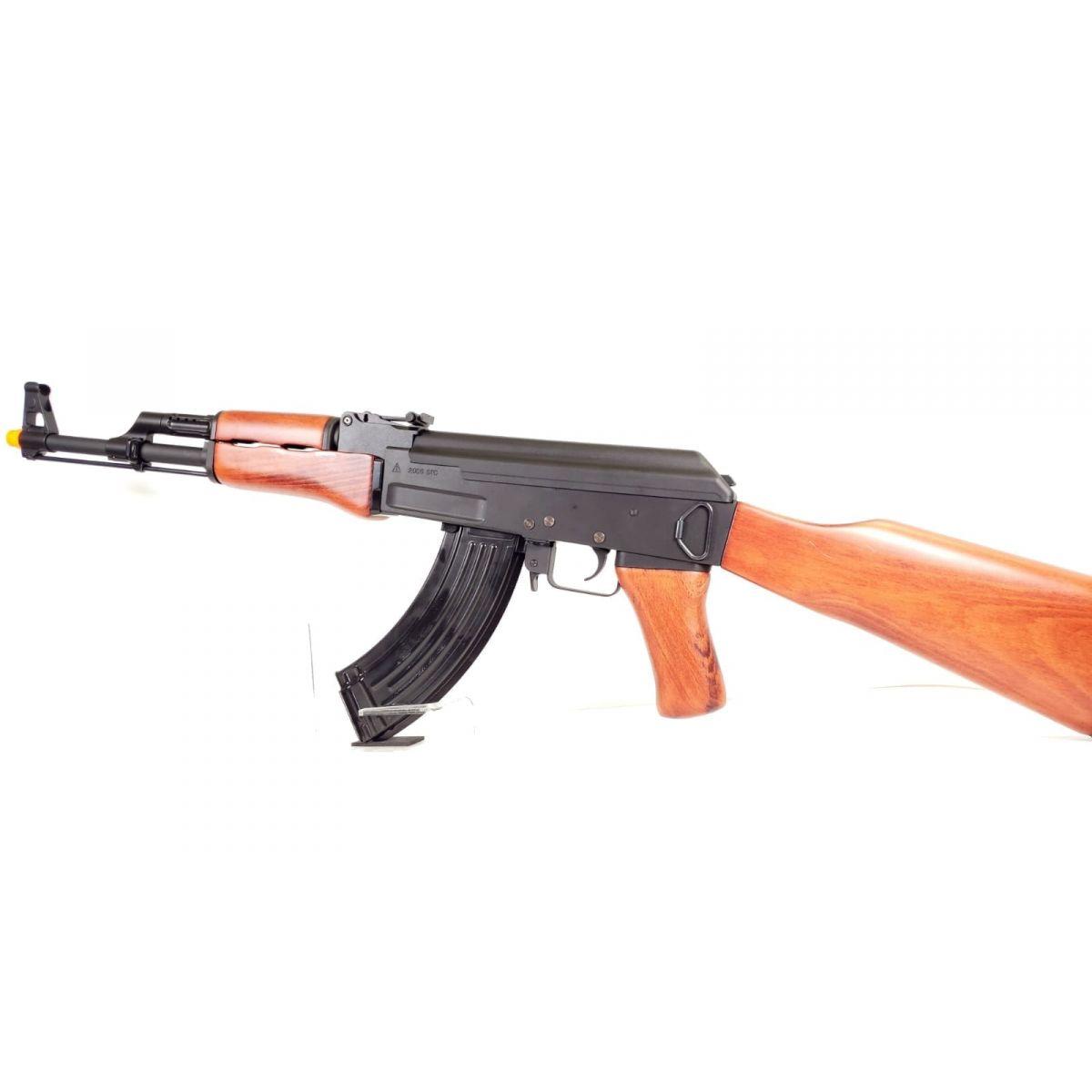 AK47 Full Metal Airsoft Wooden Version