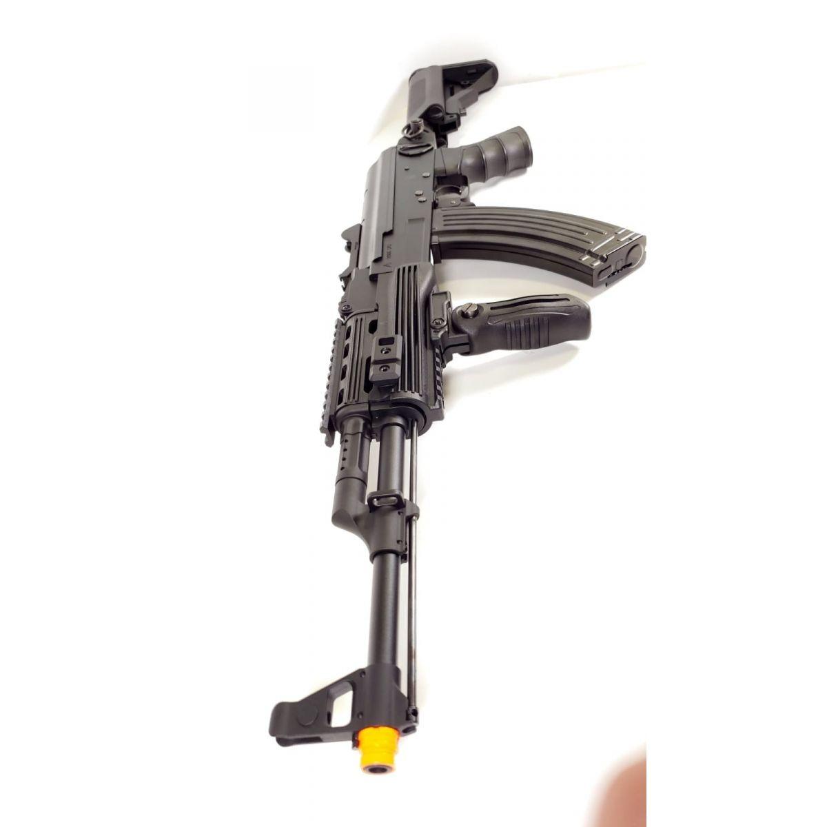 SR-TAC FULL METAL AK47 AEG Electric Airsoft Rifle FPS