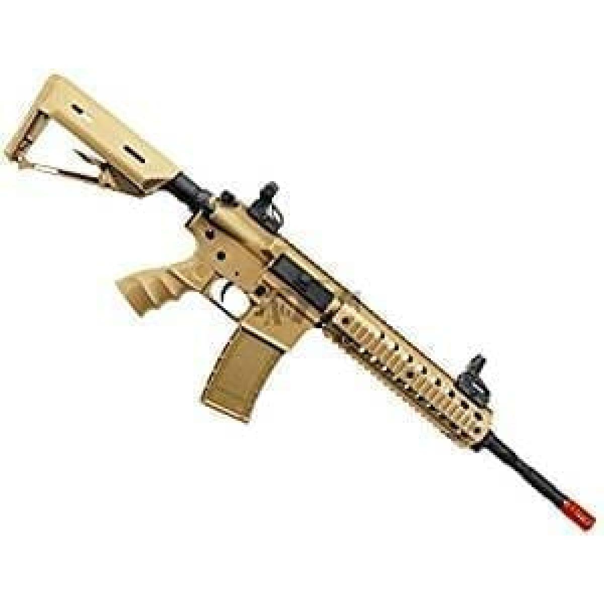 ARMY TAN Pro airsoft rifle metal