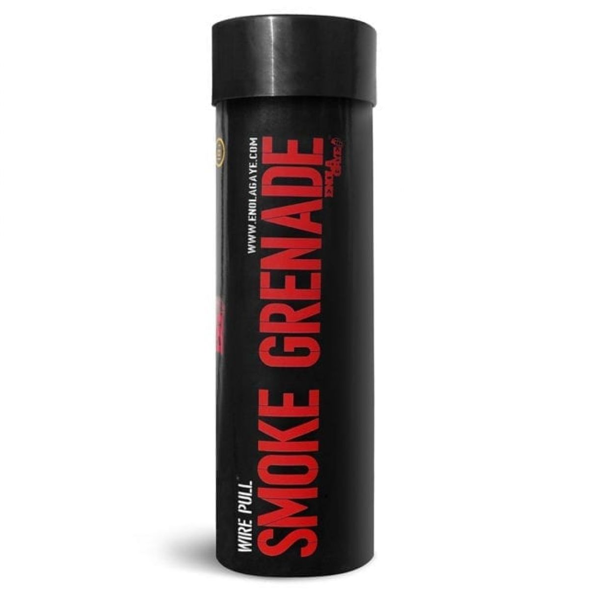 WP40 RED Smoke Grenade wire pull 120 seconds