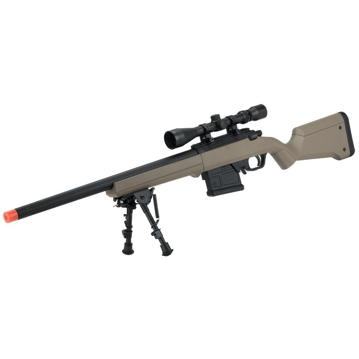 Gen2 S1 Bolt Action Sniper Rifle brown amoeba