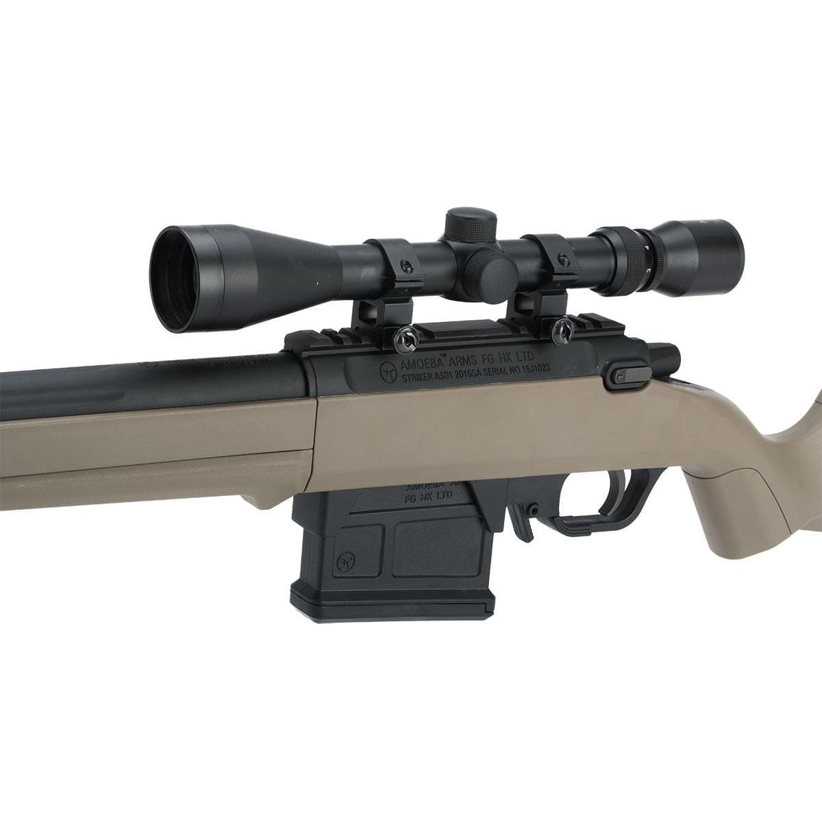 Gen2 S1 Bolt Action Sniper Rifle brown earth