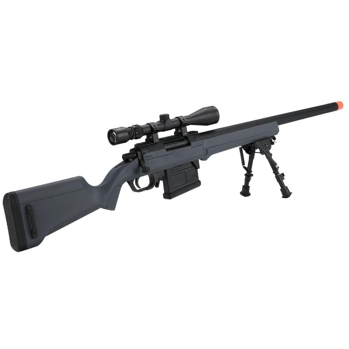 S1 Gen2 Bolt Action Sniper Rifle grey amoeba
