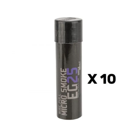 EG25 Purple Smoke Grenade 10 PACK