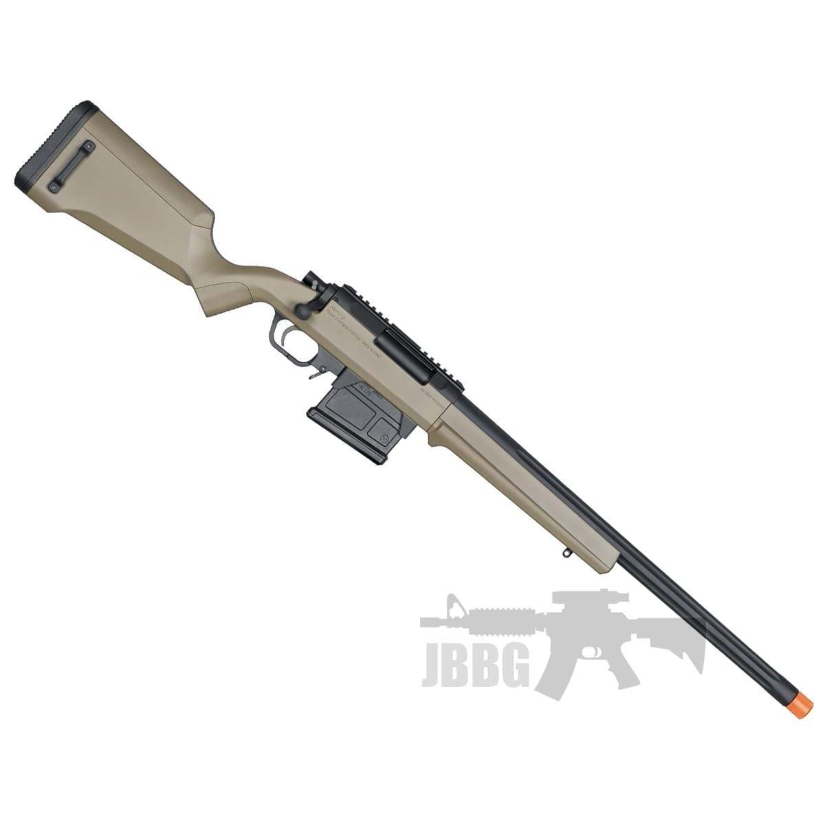 airsoft sniper rifle tan
